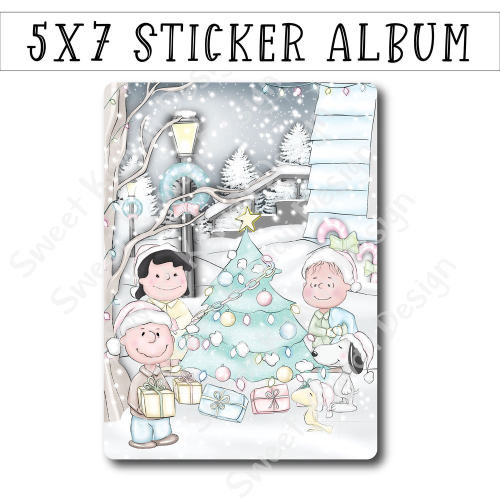 SKD 5x7 Sticker Album - Little Christmas Tree