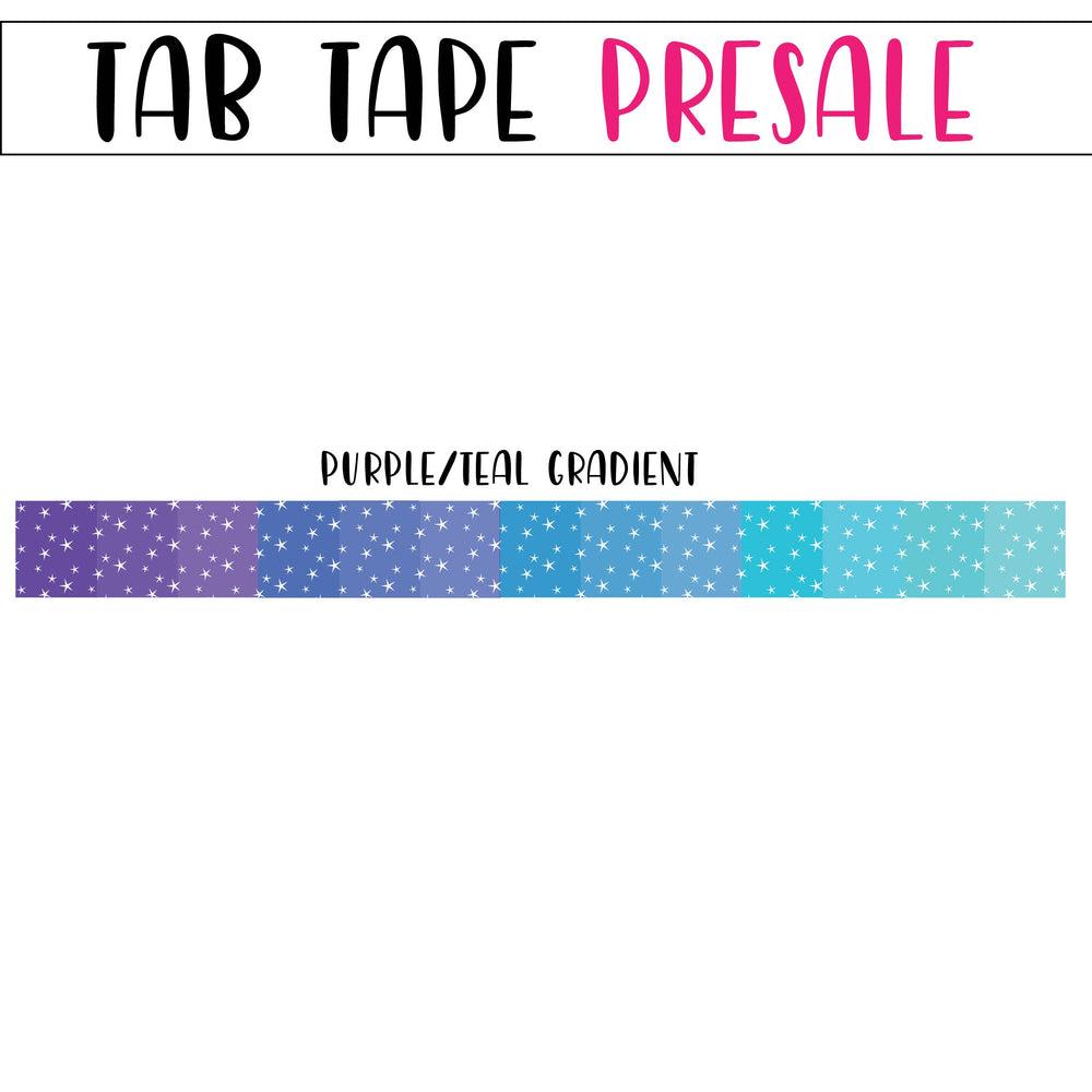 PRESALE - Tab Tape - PLEASE READ DESCRIPTION - DO NOT PURCHASE WITH OTHER ITEMS