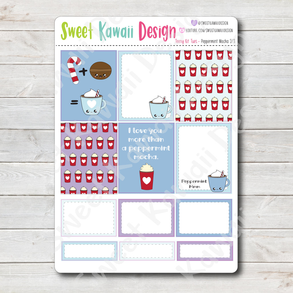 Teeny Kit - Peppermint Mocha - Vertical
