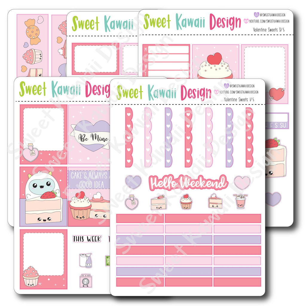 Weekly Kit  - Valentine Sweets HORIZONTAL
