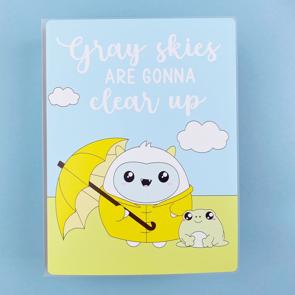 SKD 5x7 Sticker Album - Gray Skies