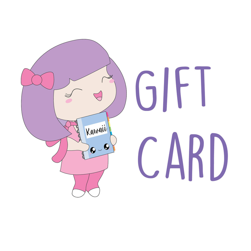 Sweet Kawaii Design Gift Card