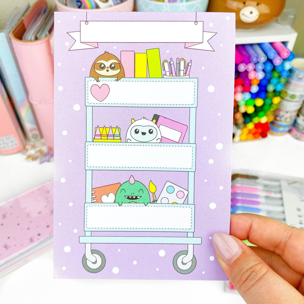 Notepad - Craft Cart Critters