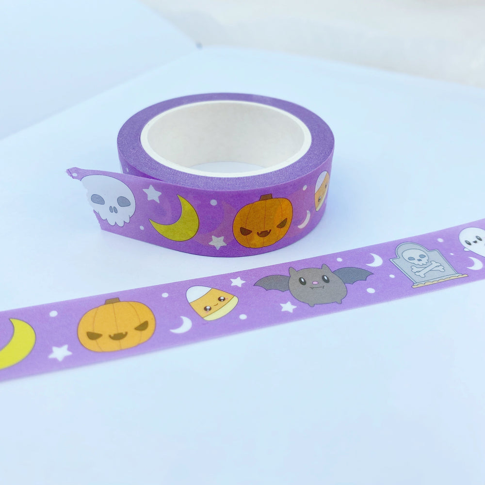 Kawaii Halloween Washi Tape 15mm x 10m