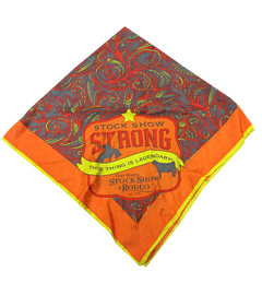 2015 Stock Show Strong Scarf