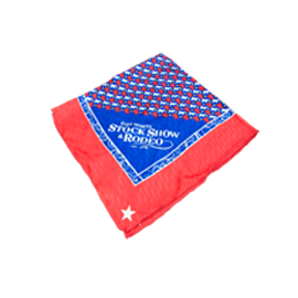 Classic Red / Royal Blue Scarf