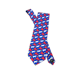 Classic Red / Royal Blue Tie