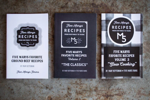 Five Marys Cookbook