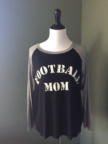 'Football Mom' Graphic Tee