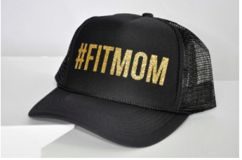 #FITMOM Black Trucker Hat