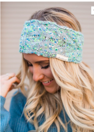 Mint Knit Headband