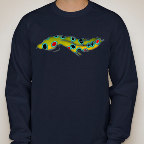 Big Bug Brown Trout Long Sleeve Tee