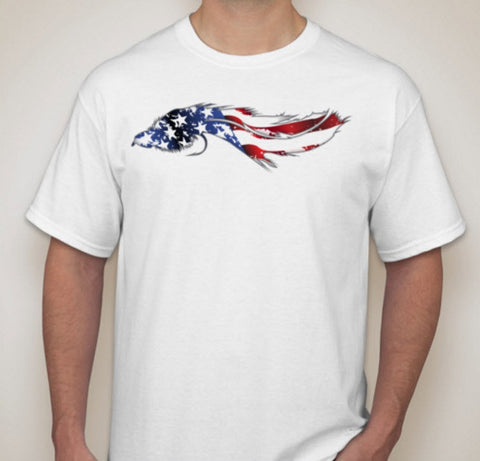 Big Bug American Flag T-Shirt