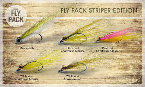 Fly Pack Striper Edition