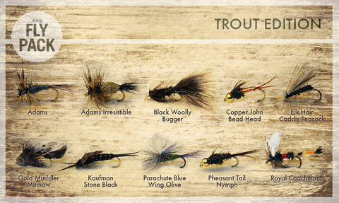 Classic Trout Edition Fly Pack