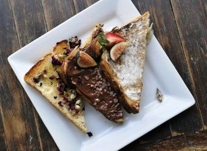 Gourmet toast now served at Raizana Tea Co.