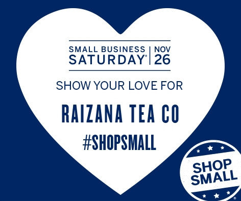 Shopsmall at Raizana Tea During Small Business Saturday