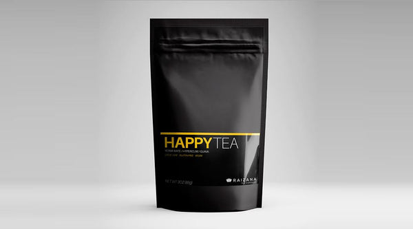 HappyTea: 100% Natural Tea Infusion For Fighting Depression & Anxiety