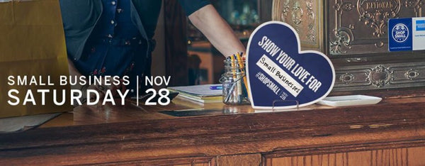 Small Business Saturday November 28 #SHOPSMALL
