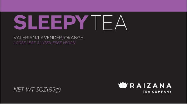 SLEEPYTEA: Passionflower + Valerian + Lavender + Orange (Herbal Tea) - Raizana Tea Co - 3