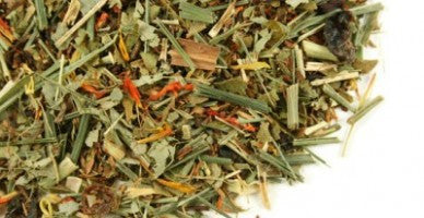 DIGESTTEA: Spearmint + Cilantro + Lemongrass + Papaya (Herbal Tea) - Raizana Tea Co - 5