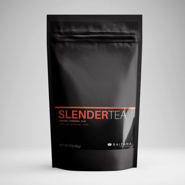 SLENDERTEA: Chai + Garcinia Cambogia + Gymnema (Herbal Tea) - Raizana Tea Co - 1