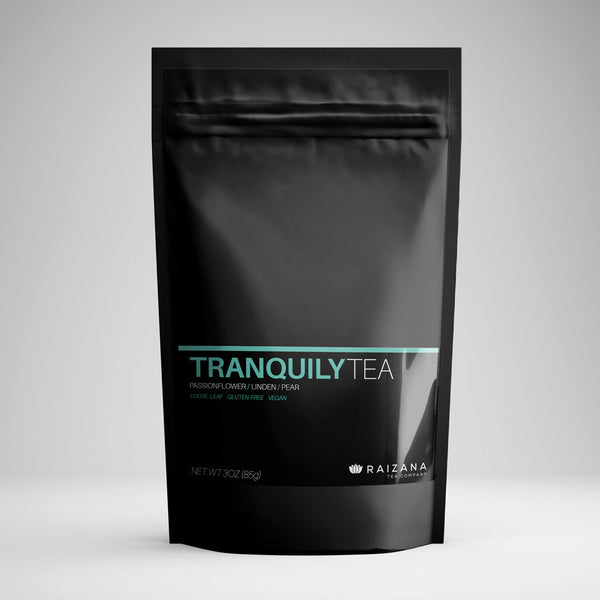 TRANQUILYTEA: Passionflower + Linden + Chamomile All Natural Herbal Tea - Raizana Tea Co - 1