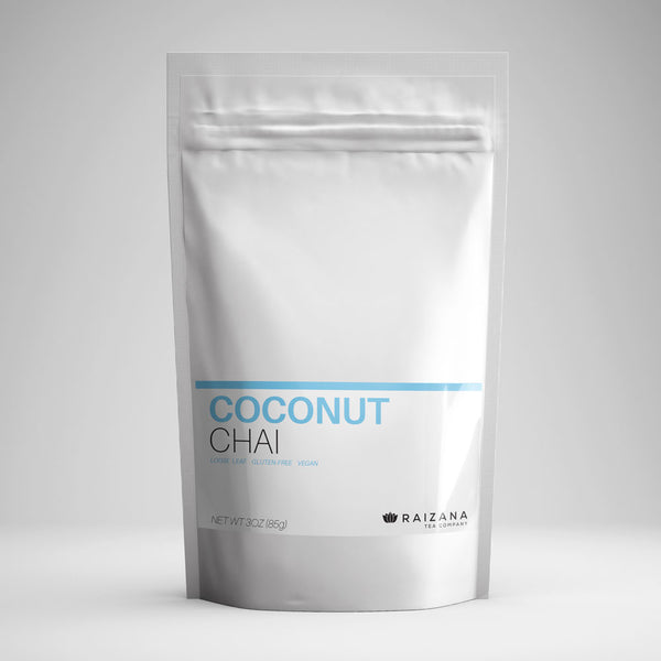 COCONUT Chai Massala Black Tea - Raizana Tea Co - 1