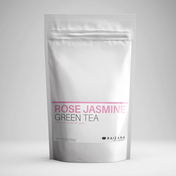 ROSE JASMINE Green Tea - Raizana Tea Co - 1