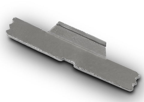 Stainless steel glock slide lock