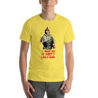 Metal Gear Solid Video Game Men T-Shirt - Party Like A Boss | Playstation 4 Game Shirt