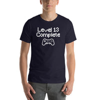 Level 13 Complete Birthday Gamer T-Shirt Unisex | 13 Years Old | Born in 2005 | Birthday Gift Idea