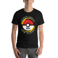 Pokemon Kanto Official Gym Leader Short-Sleeve Unisex T-Shirt | Pokemon GO Shirt | Gift Idea