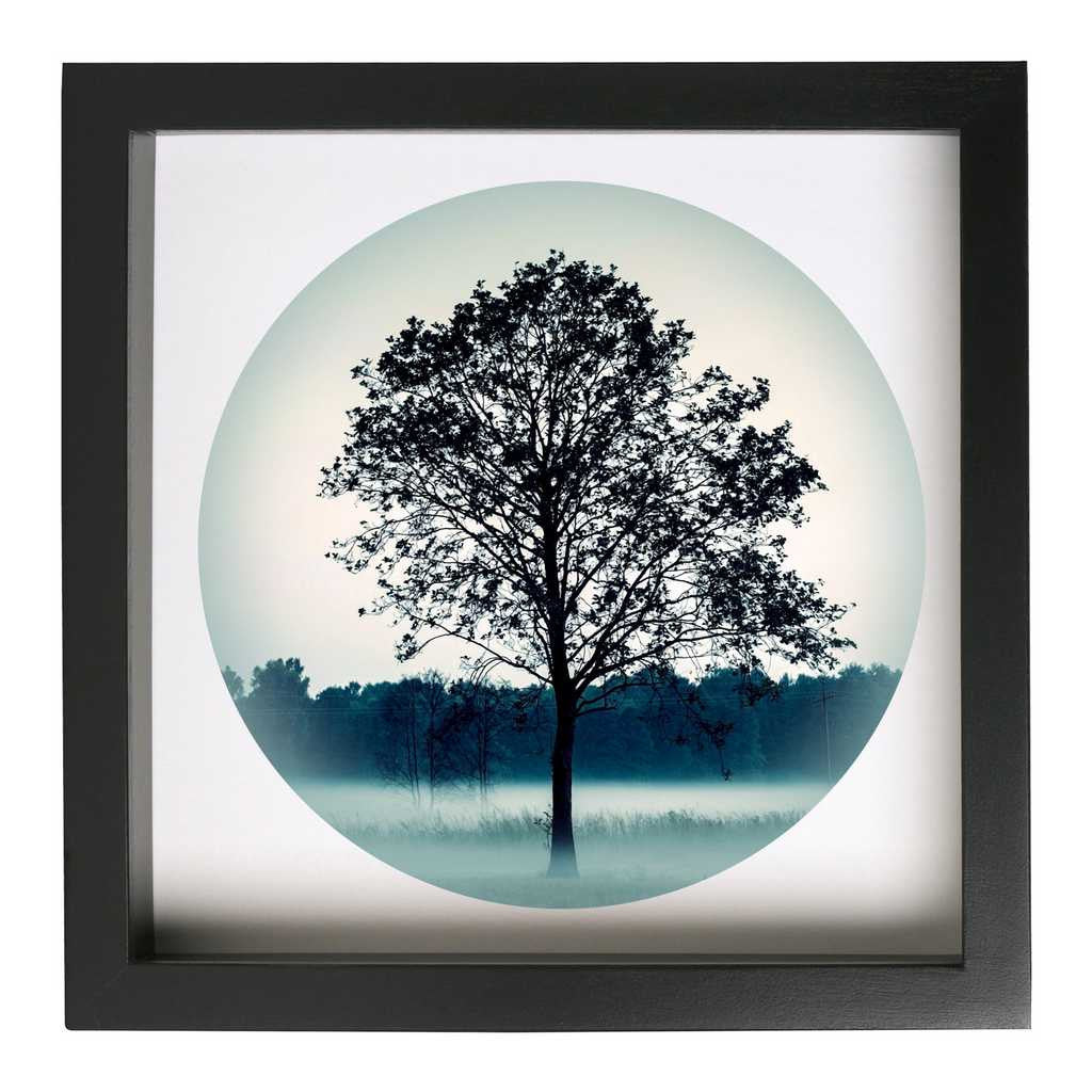 Lone Tree Framed Nature Themed Art Print - Conspicuous Design