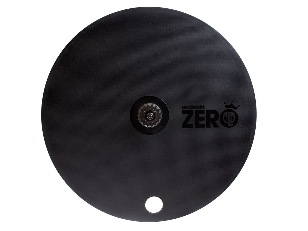 BLB Notorious Zero Full Carbon Rear Disc Wheel - Black