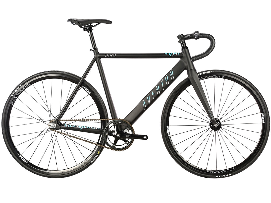Aventon Cordoba Fixie & Single Speed Bike - Black