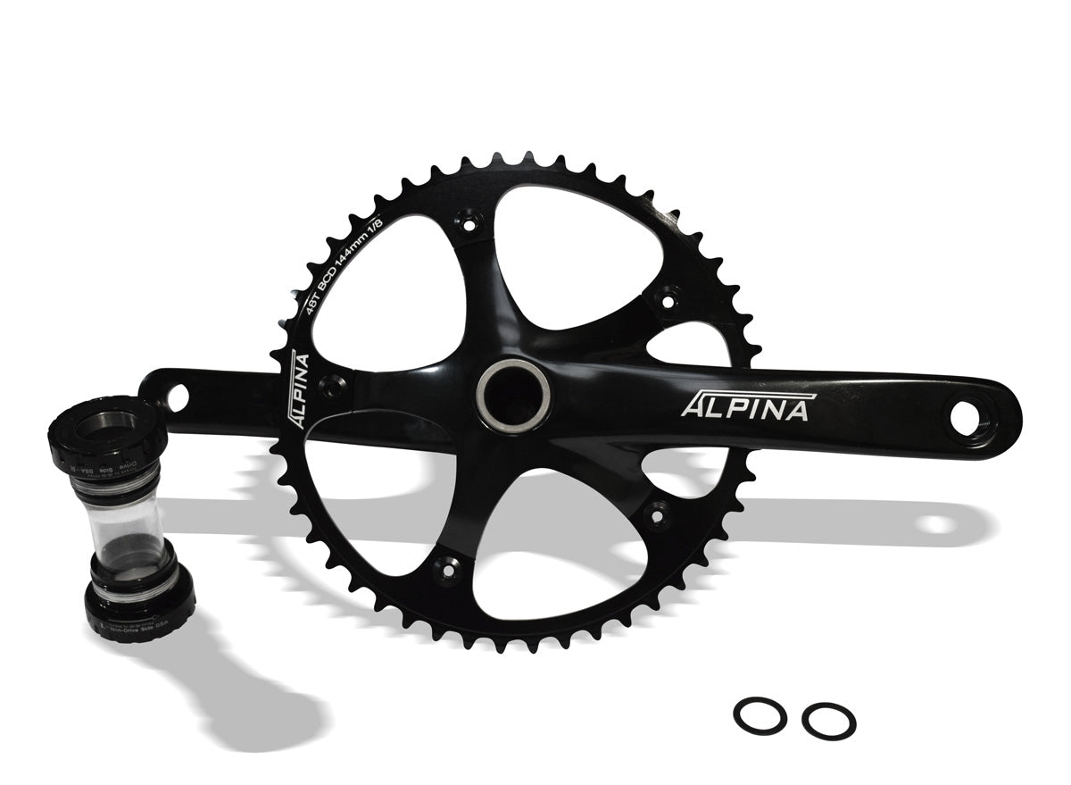 Alpina Track Crankset 165mm