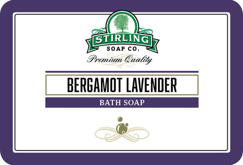 Stirling Bergamot Lavender Bath Soap