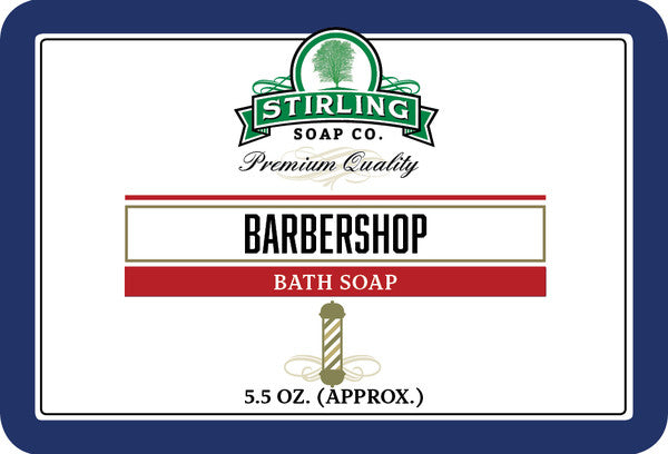 Stirling Barbershop Bath Soap