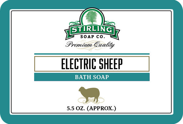 Stirling Electric Sheep Bath Soap