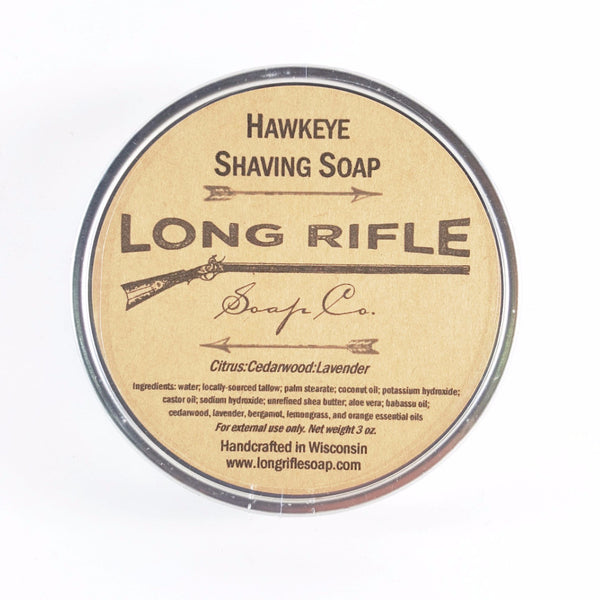 Long Rifle Hawkeye Shave Soap