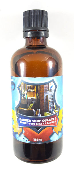 Soapy Bathman BarberShop Quartet Aftershave Splash