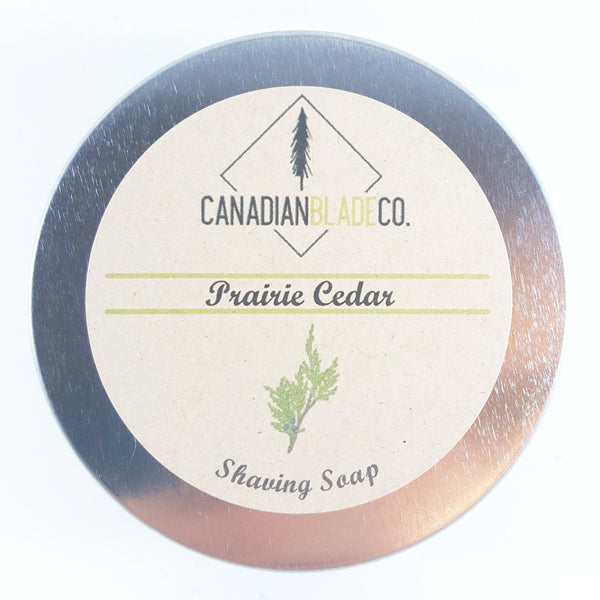 Canadian Blade Co. Prairie Cedar Shave Soap
