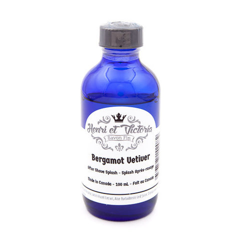 Henri et Victoria Bergamot Vetiver Aftershave Splash