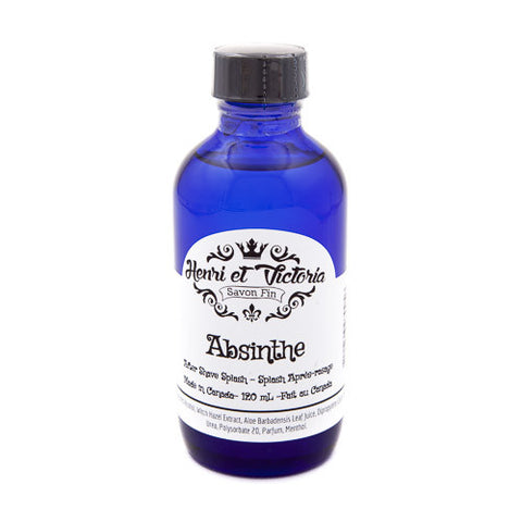 Henri et Victoria Absinthe Aftershave Splash