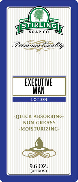 Stirling Soap Co. Executive Man Body Lotion
