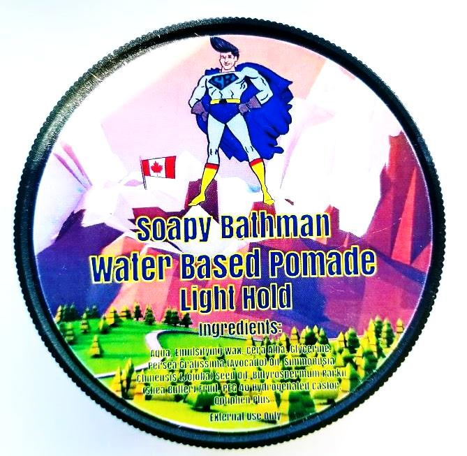 Soapy Bathman Water Based Pomade (Light Hold)