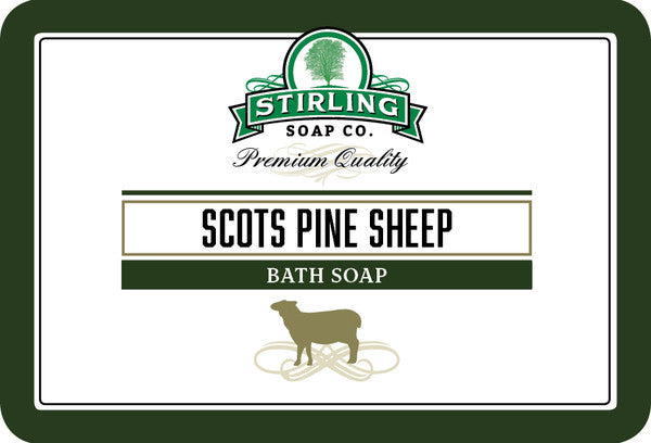 Stirling Scots Pine Sheep Bath Soap