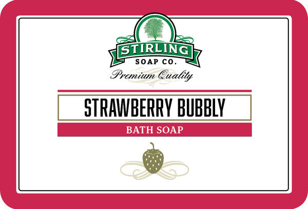 Stirling Strawberry Bubbly Bath Soap