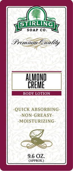 Stirling Soap Co. Almond Creme Body Lotion